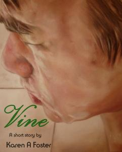 Cherise Foster Has Painting Chosen For Book Front Cover.