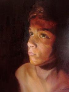 Artist Cherise Foster Wins The SAAs Best Young In The Portrait And Figure Category